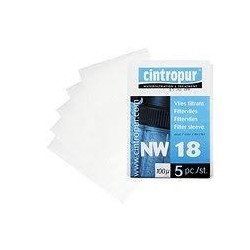 Vložky Cintropur pro filtr NW18 - 25 mcr