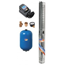 AQUACUP ECONOMY SUB CONTROL 70/62 INOX, Vodárna s konstantním tlakem
