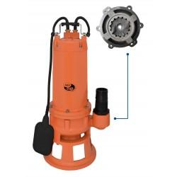AQUACUP HART 1100 SQG kalové čerpadlo s drtičem
