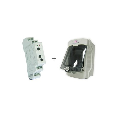 Hladinový komplet HRH-5 + rozvodnice ECH-4G IP65