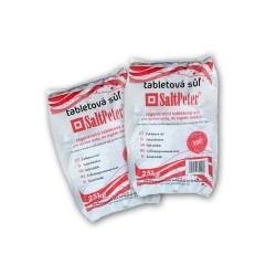Tabletová regenerační sůl SaltPeter 25 kg