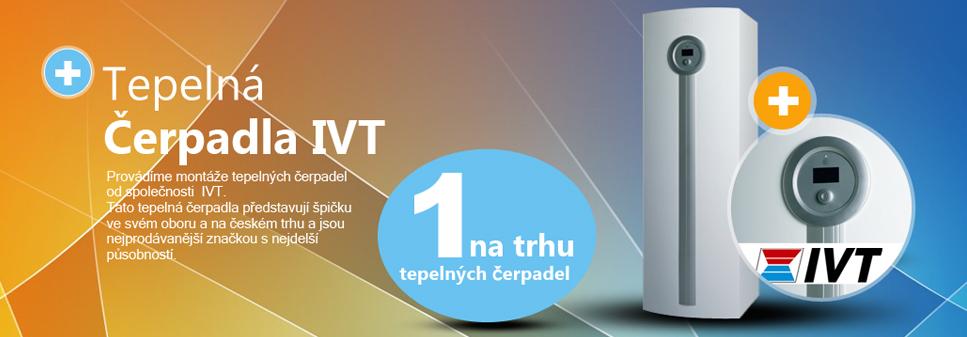 dodávka a montáž Tepelných čerpadel IVT