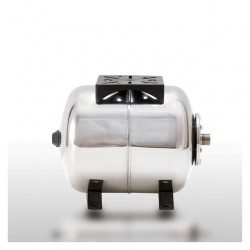 AFC 24 SB INOX, nerezová horizontální tlaková nádoba 24 litrů