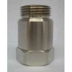 """Magnetická úpravna vody Krafting DN 1/2"""", šroubení 3/4"""" lesklá"""